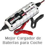 Mejor cargador baterias coche